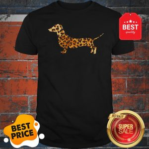 Cute Dachshund Leopard Shirt