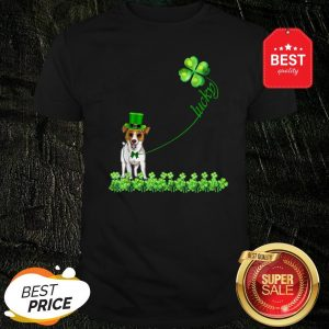 Good Lucky Saint Jack Russell Terrier Dog Shamrock St Patrick Day Shirt