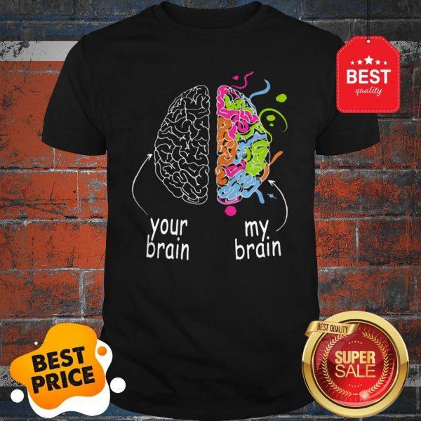 Nice Neurodiversity Brain Dyslexia ADHD Autism Epilepsy Shirt