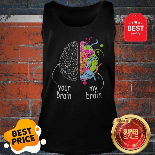 Nice Neurodiversity Brain Dyslexia ADHD Autism Epilepsy Tank Top
