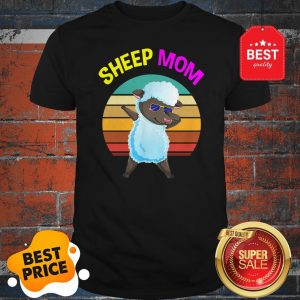 Official Cute Dabbing Sheep Mom Lovers Gifts Mama Mothers Shirt