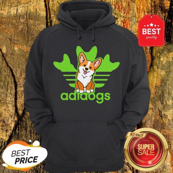 Pretty Adidogs Corgi Dog Hoodie