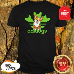 Pretty Adidogs Corgi Dog Shirt