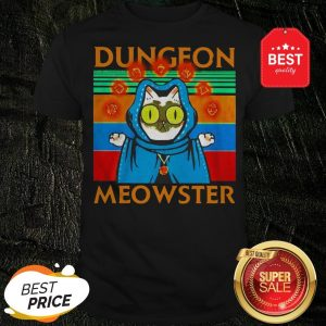 Vintage Cat Dungeon Meowster Shirt