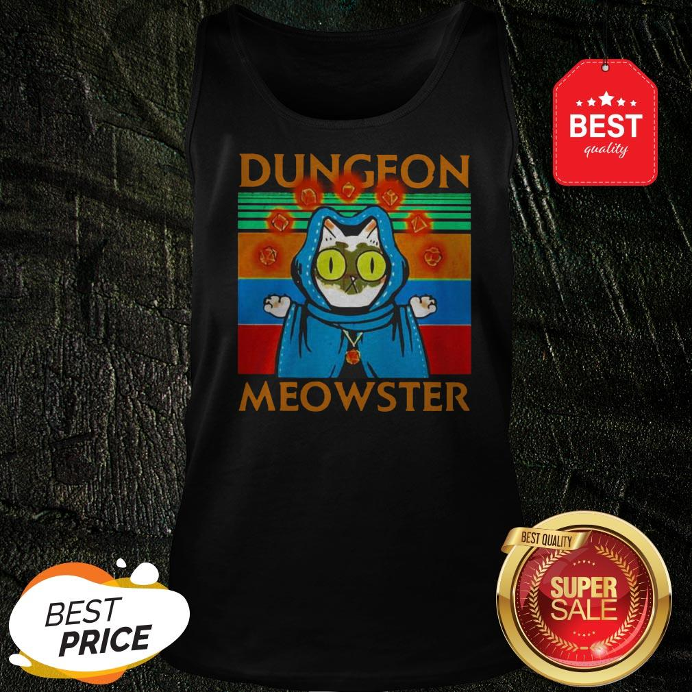 Vintage Cat Dungeon Meowster Tank Top