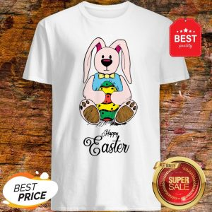 Cute Bunny Rabbit Happy Easter Day Shirt