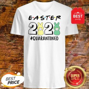 Good Easter 2020 Quarantined Coronavirus V-neck