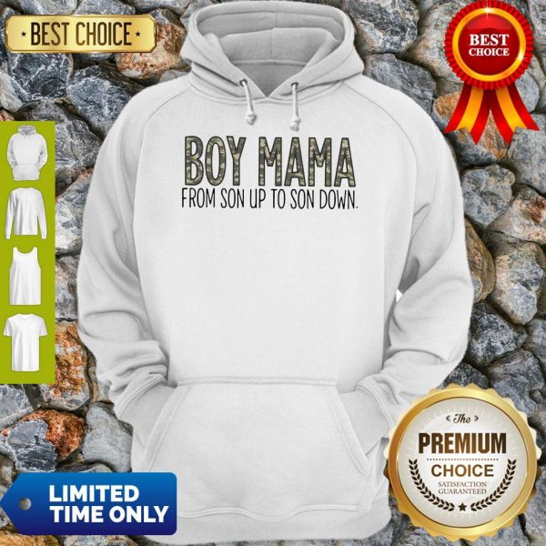 Official Boy Mama From Son Up To Son Down Hoodie