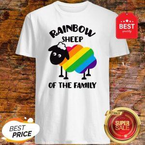 Rainbow Sheep Of The Family Shirt