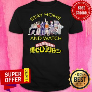 Stay Home And Watch My Hero Academia The Movie Sweater Shirt