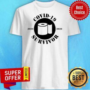 Awesome Coronavirus Survivor 2020 – Pandemic Shirt
