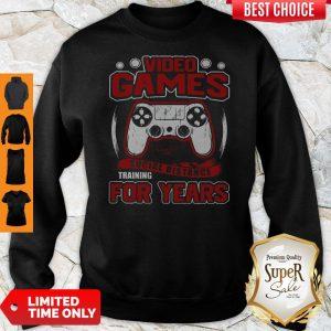 Premium Video Game Social Distance Training For Years Sweatshirt