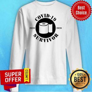 Awesome Coronavirus Survivor 2020 – Pandemic Sweatshirt