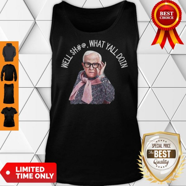 Top Dr. Now Baseball Well What Y'all Doin Tank Top