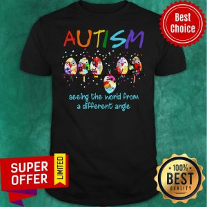 Awesome Bird Autism Seeing The World From A Different Angle Shirt