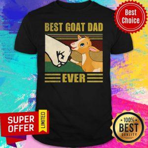 Nice Beat Goat Dad Ever Vintage Shirt