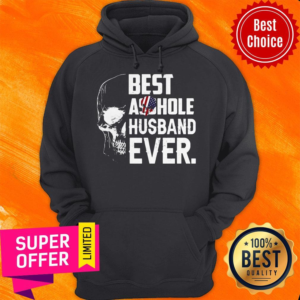 Nice Best Assohle Husband Ever Skull Hoodie
