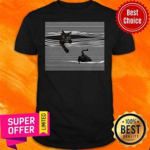 Nice I Do What I Want Black Cat Mug Shirt