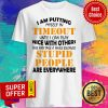 Official I Am Putting Myself In Timeout Shirt