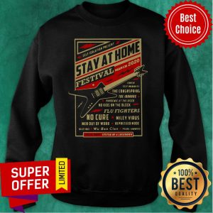 Official Self Isolation Present Stay At Home Festival Sweatshirt