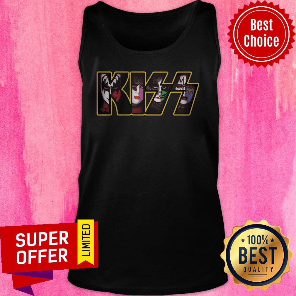 Premium Kiss Rock Tank Top