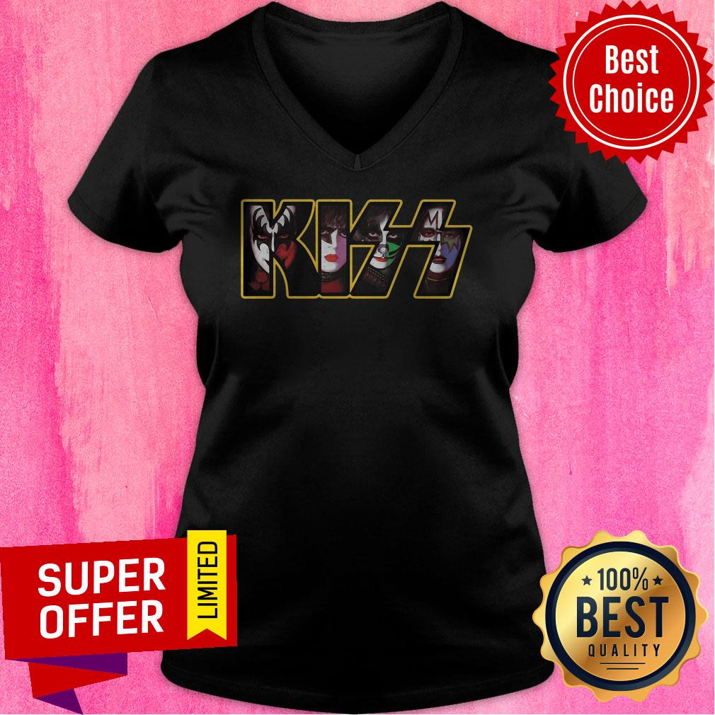 Premium Kiss Rock V-neck