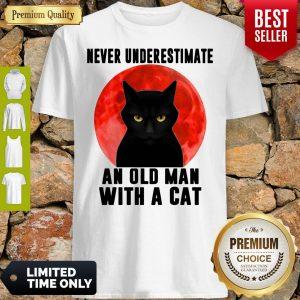 Top Cat Never Underestimate An Old Man Shirt