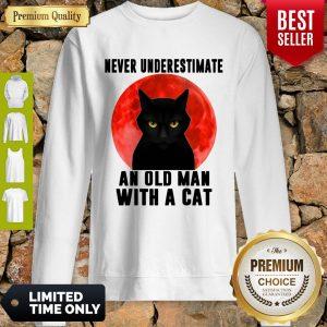 Top Cat Never Underestimate An Old Man Sweatshirt