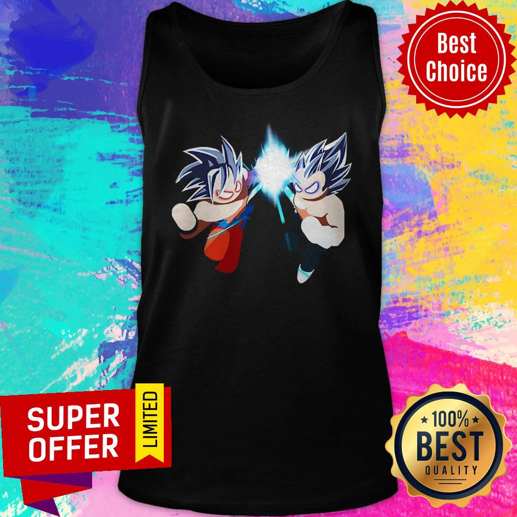 Awesome Super Saiyan Dragon Goku Warriors Z Tank Top