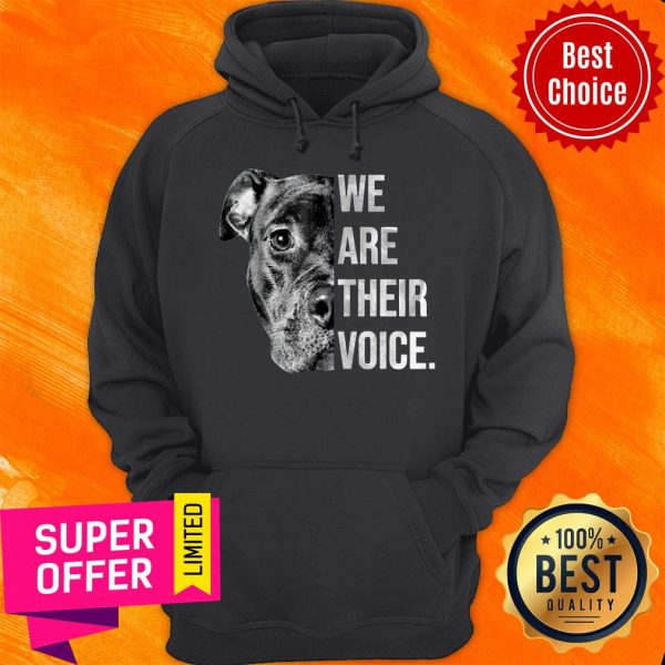 Awesome We Are Their Voice Hoodie