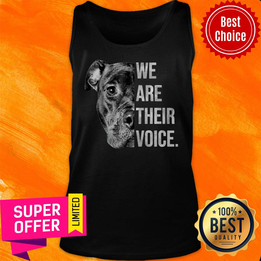 Awesome We Are Their Voice Tank Top