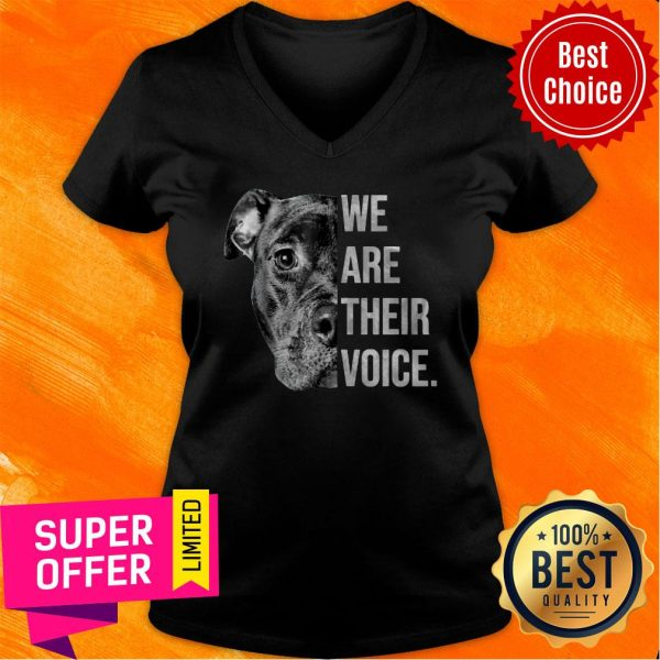 Awesome We Are Their Voice V-neck