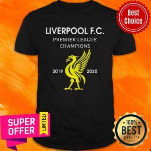 Official Liverpool F.C Premier League Champions 2019 2020 Shirt