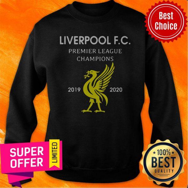 Official Liverpool F.C Premier League Champions 2019 2020 Sweatshirt