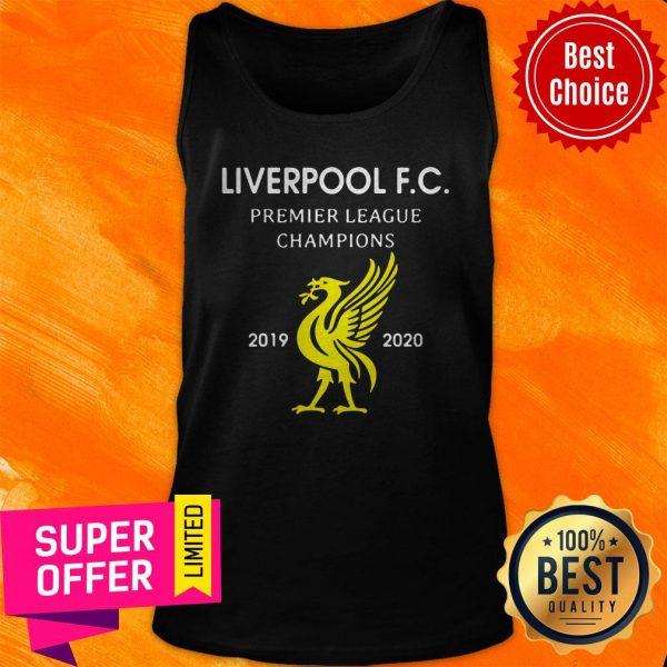 Official Liverpool F.C Premier League Champions 2019 2020 Tank Top