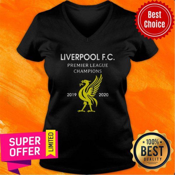 Official Liverpool F.C Premier League Champions 2019 2020 V-neck