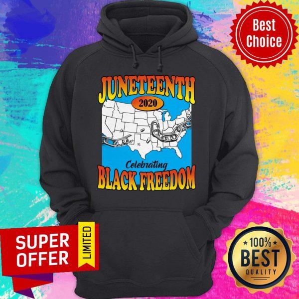 Premium Juneteenth 2020 Celebrating Black Freedom Hoodie