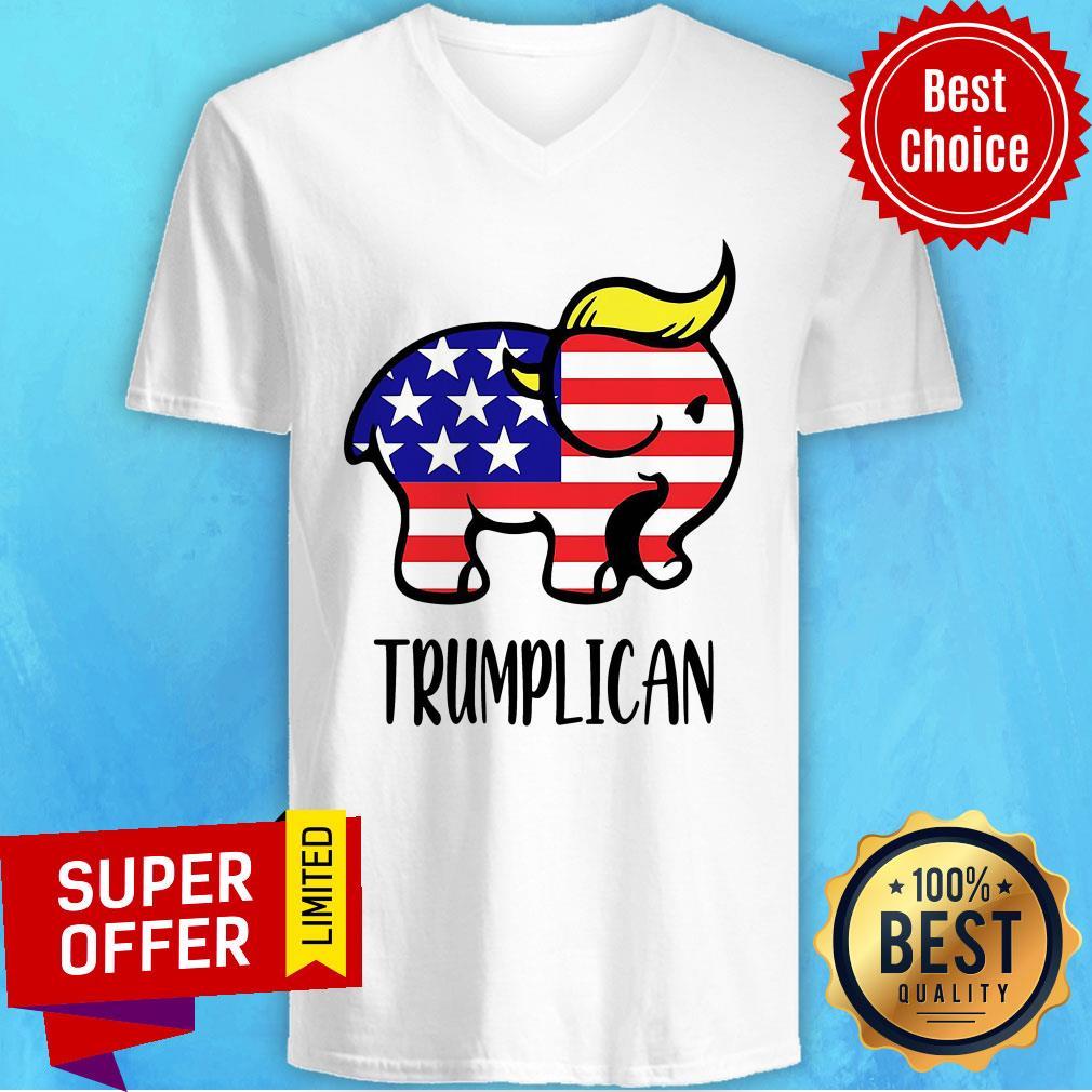 Premium Trumplican V-neck
