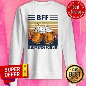 Top BFF Beer Friends Forever Vintage Sweatshirt