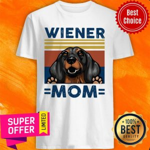 Top Dachshund Wiener Mom Vintage Shirt