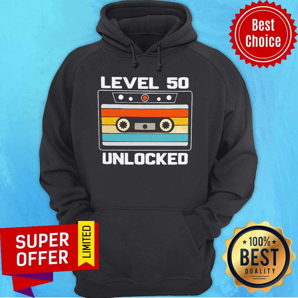 Top Level 50th Unlocked Vintage Hoodie