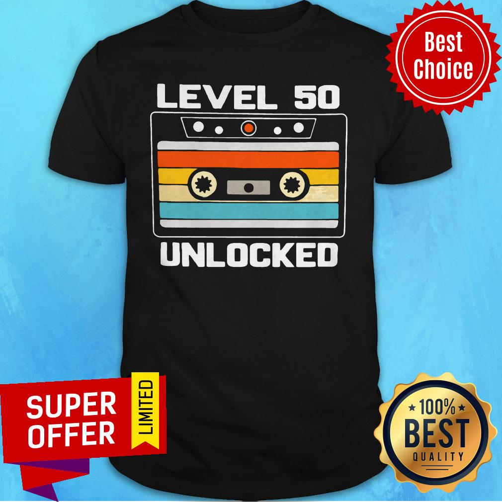 Top Level 50th Unlocked Vintage Shirt