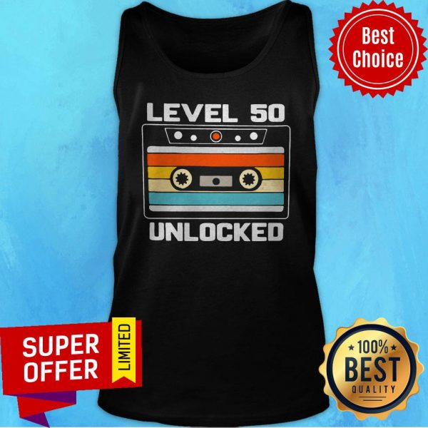 Top Level 50th Unlocked Vintage Tank Top
