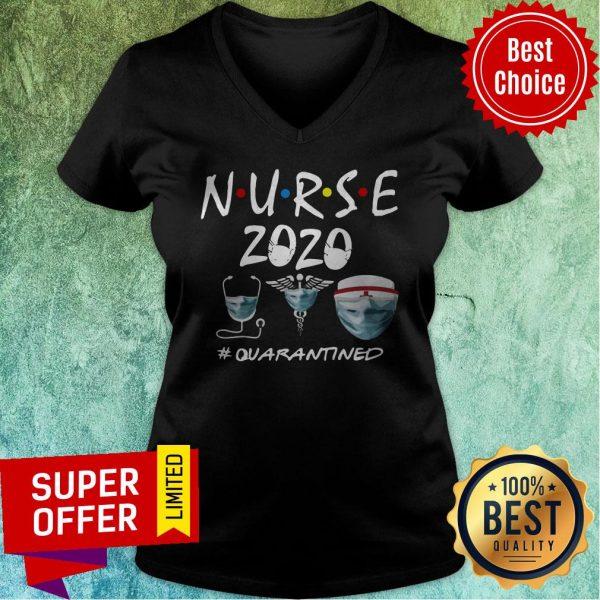 Top Nurse 2020 Quarantined V-neck