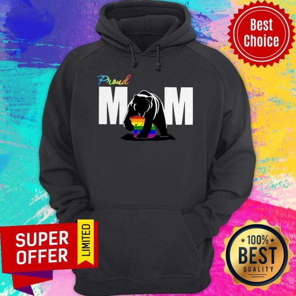Top Proud Mama Bear LGBT Hoodie