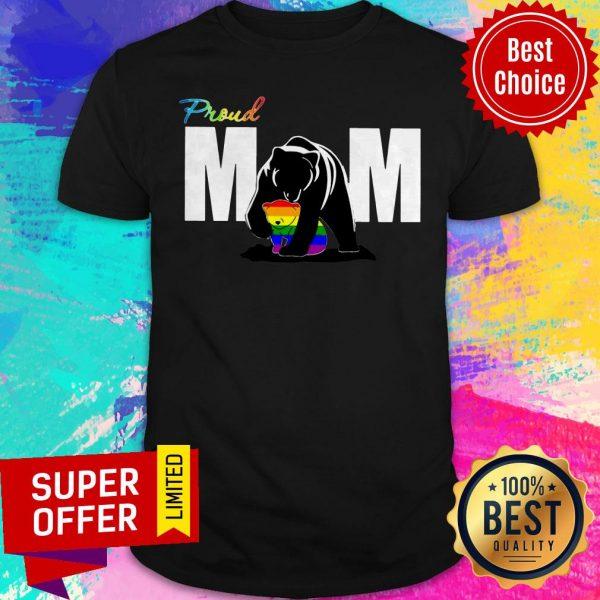 Top Proud Mama Bear LGBT Shirt