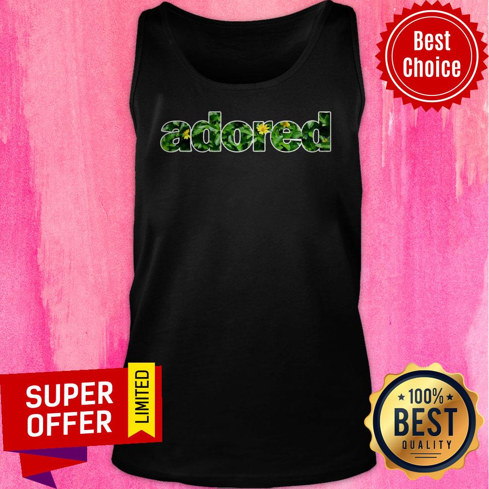 Awesome Adored Floral Tank Top