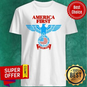 Funny America First Trump 2020 Shirt