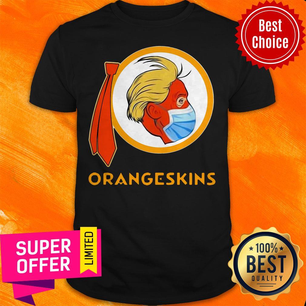 Funny Donald Trump Orangeskins Shirt