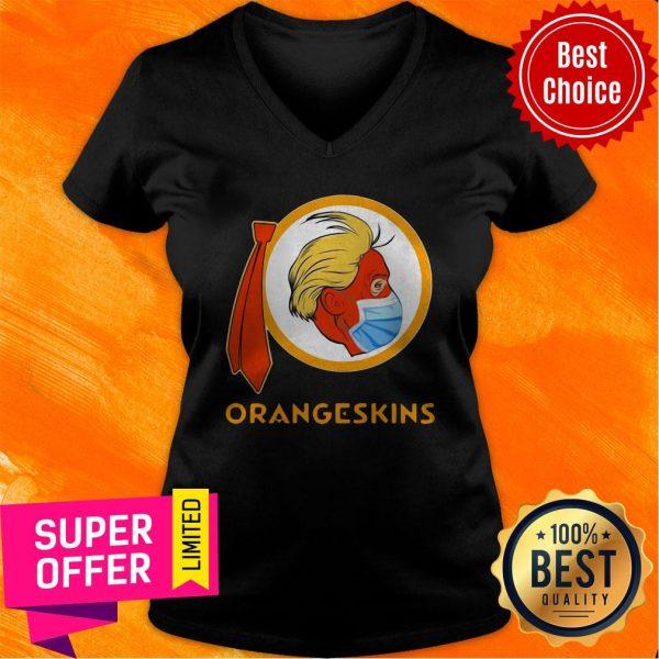 Funny Donald Trump Orangeskins V-neck
